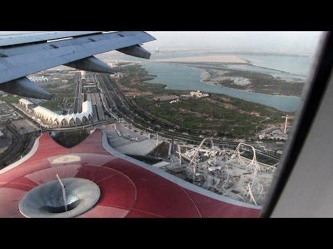 Etihad Airways A330 Landing Abu Dhabi