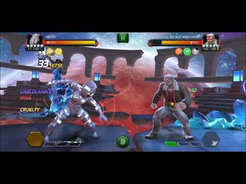 84 hits KO - Ghost DESTROYS OML (LoL) - Marvel Contest of Champions