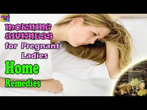 How to Cure  Morning Sickness Especially Pregnant First Trimester - NEW