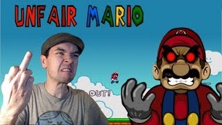 Unfair Mario | I HATE THIS GAME!! | Gameplay Commentary/Face cam reaction