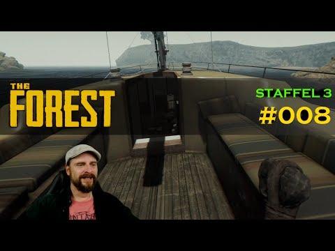 The Forest deutsch 🍂 #S3E008: Defensive Wall wird fertig & Wir plündern die Yacht