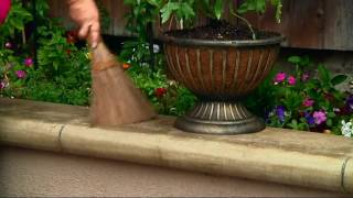 Ultimate Innovations Indoor/Outdoor Coconut Broom & Whisk Set on QVC