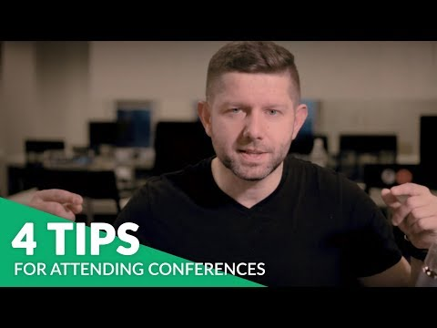 4 TIPS TO BOOST THE BENEFITS OF ATTENDING CONFERENCES | Social Media Marketing World 2018