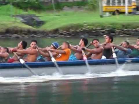 50 Samoans Rowing 1 boat