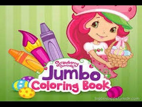 Strawberry Shortcake Jumbo Coloring Book Part 1 Ipad App Demo For