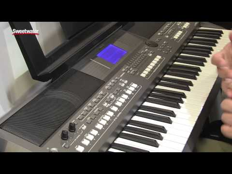 Yamaha PSR-S670 61-key Arranger Workstation | Sweetwater