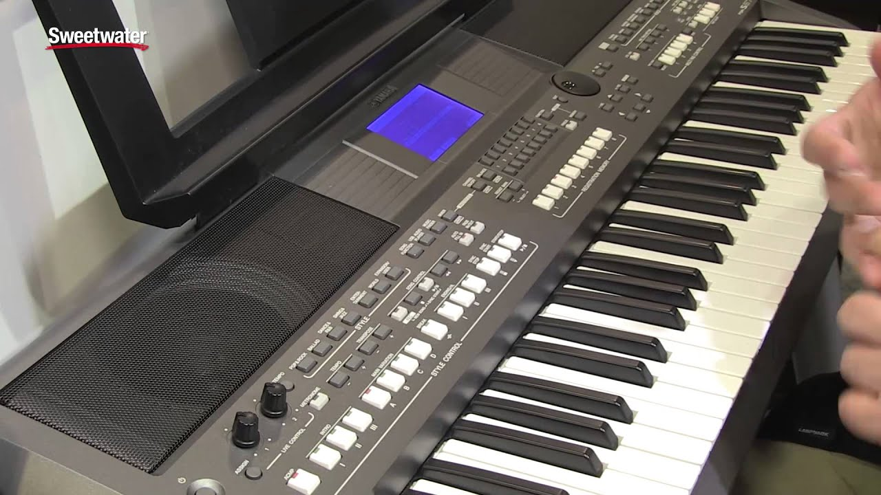 Summer NAMM 2015 Yamaha PSR S670 Arranger Keyboard
