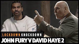 """Shall we start with £1,000,000!?"" Big John Fury and David Haye argue over who wins: AJ v Fury 🤬"