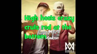 Marcus og Martinus  Girls ft  Madcon LYRICS