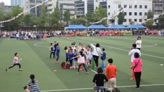 서울대림초등학교 2016년 가을 운동회 123학년 이어달리기