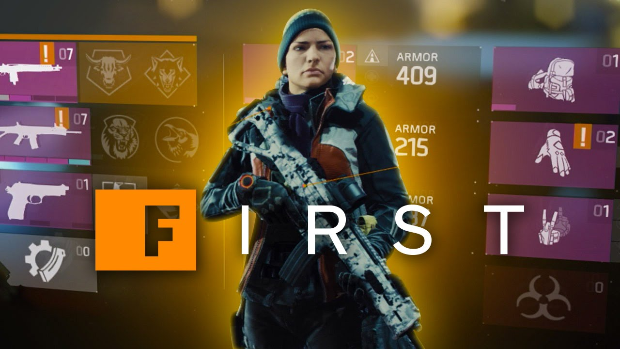 the division how to create new character