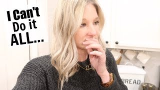 I CAN'T DO IT ALL | A DAY IN THE LIFE VLOG | BRITTANI BOREN LEACH