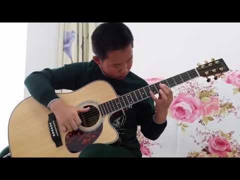 (Sungha Jung) Flaming - Liu Jiazhuo