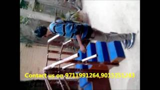 Physiotherapy Equipment Exercise Stair case corner type Video By Biotronix India