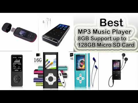 Best MP3 Music Player, Music Player,  With Bluetooth & FM Radio, 16 GB TF Card, Max support 128GB
