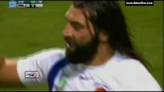 CHABAL THE BULLDOZER FRENCH RUGBY PLAYER
