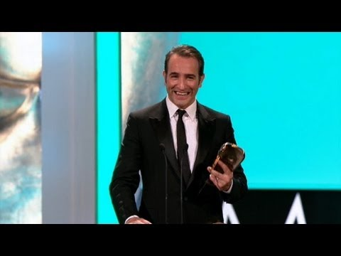 Leading Actor BAFTA: Jean Dujardin - The British Academy Film Awards 2012 - BBC One