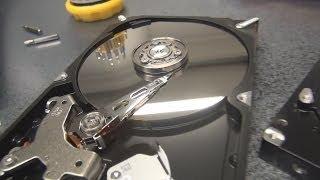 Вскрытие жёсткого диска. Замена