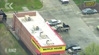 Naked Nashville Waffle House shooter still on the run: RNZ Checkpoint