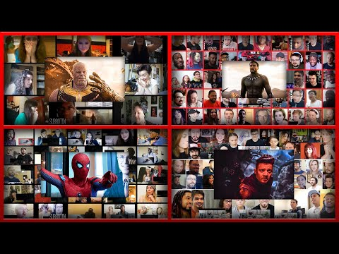 All Reactions Mashups of Marvel (2013-2019) || Avengers Endgame, Black Panther, Iron Man, Thor