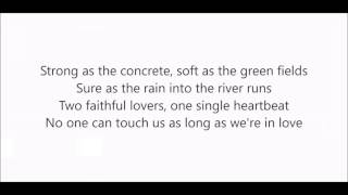 Ronan Keating - As long as we're in love (Lyrics)