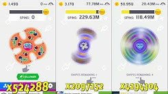 Ketchapp Fidget Spinner From x1 to World Record!!!