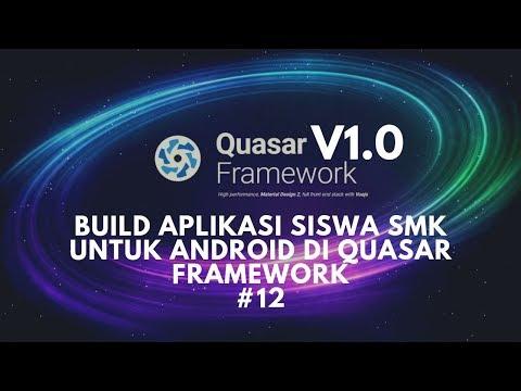 [Quasar v1.0] Aplikasi Siswa SMK   Build Aplikasi Siswa SMK ke Android di Quasar Framework thumbnail