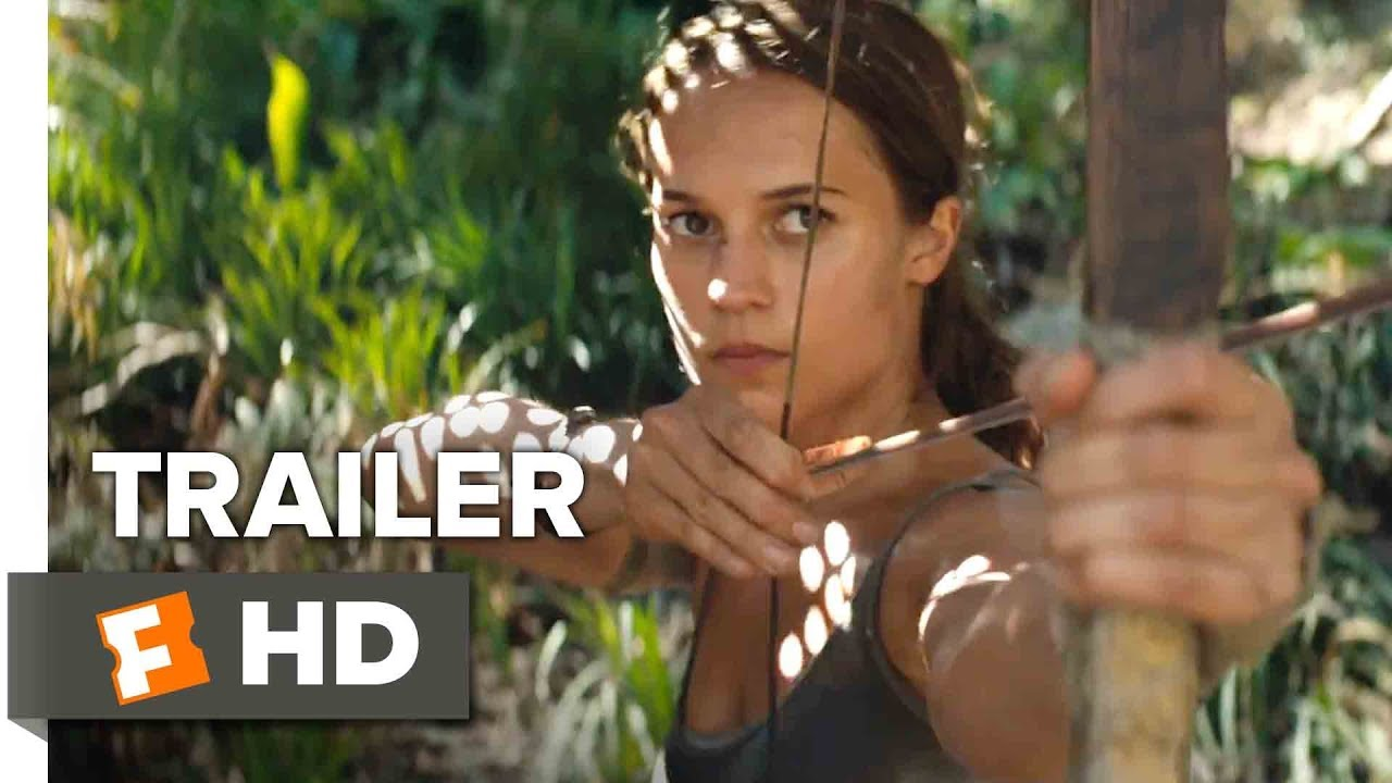 Tomb Raider Trailer 1 2018 Movieclips Trailers Youtube