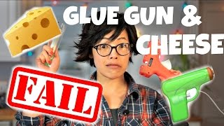 GLUE GUN & CHEESE | DIY Fondoodler | extrude melted cheese