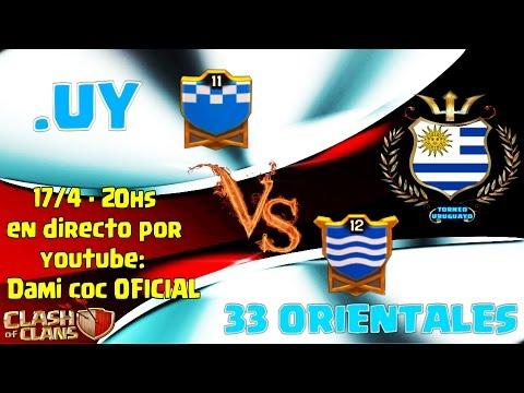 DIRECTO Guerra - .UY vs 33 Orientales Copa Uruguaya de COC