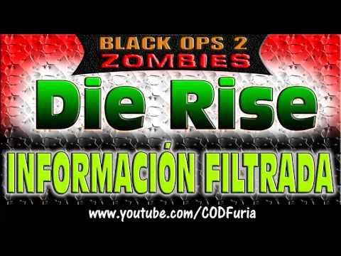 Mapa Die Rise || Informacion Filtrada || DLC Revolution || Black Ops 2 Zombies || Comentado Español