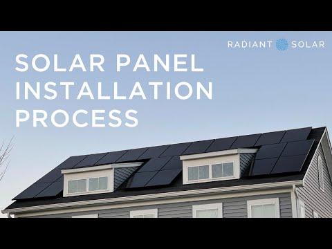 Solar Panel Installation Process: 45 days or less! // Radiant Solar