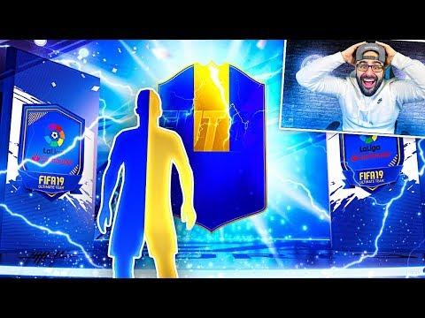 OMG NO WAY!! I PACKED A HUGE TOTS! GUARANTEED LA LIGA TOTS SBC! - FIFA 19 Ultimate Team