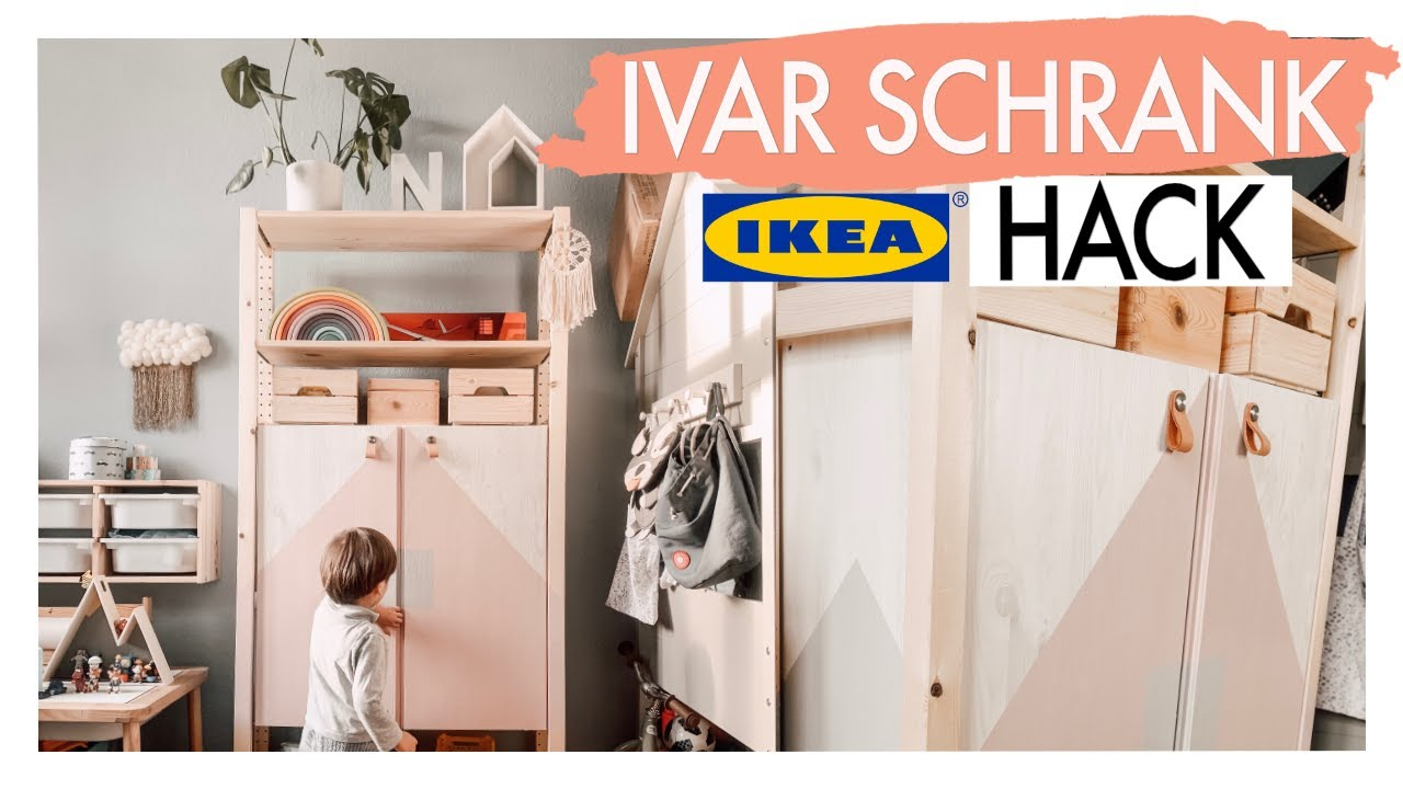 Ikea Ivar Hack Furs Kinderzimmer I Eileena Youtube