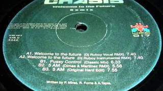 Chasis   Welcome To The Future DJ Ruboy Vocal Remix - vinilo makina remember - revival vinyl