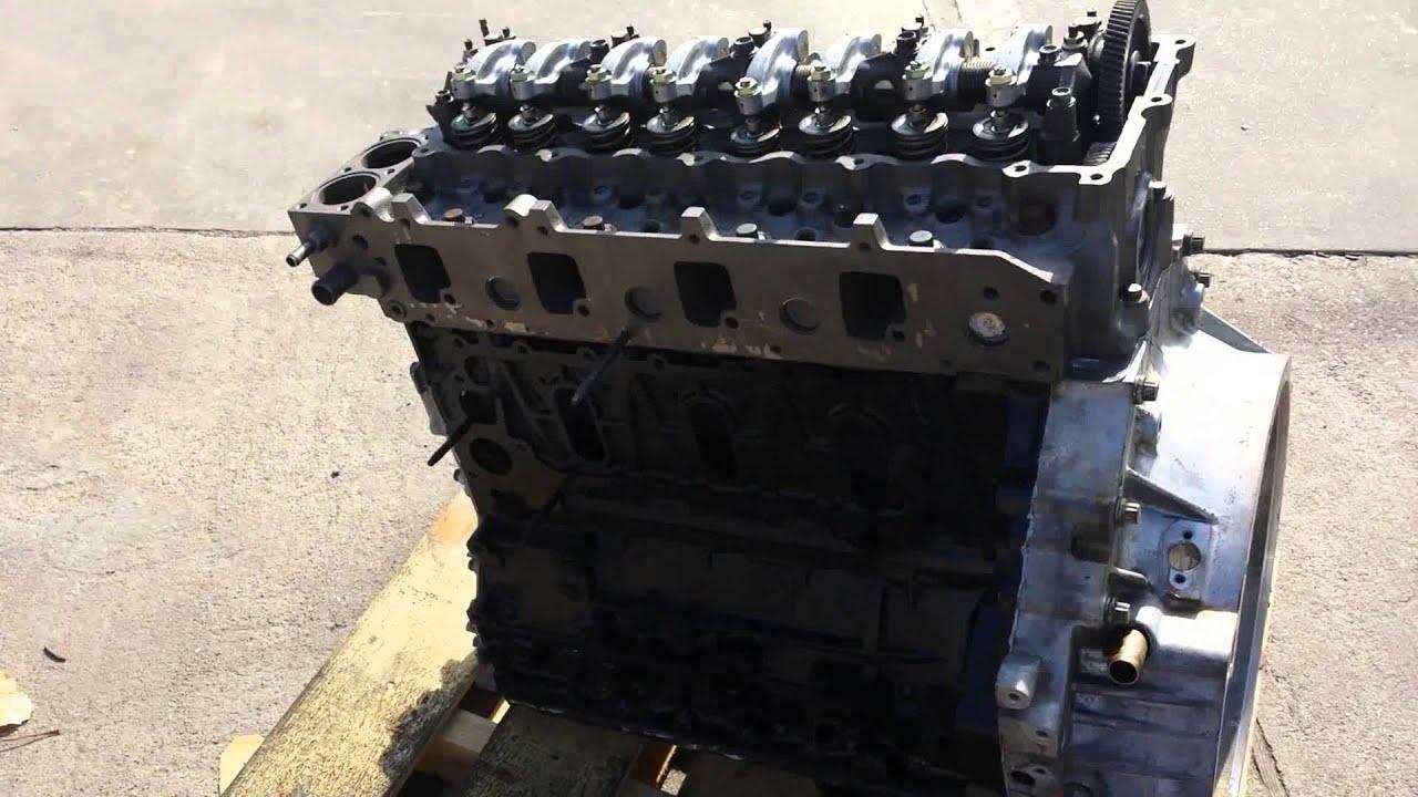 isuzu npr gmc w3500 4500 5500 4he1 rebuilt engine youtube