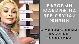 Базовый макияж с минимальным набором косметики