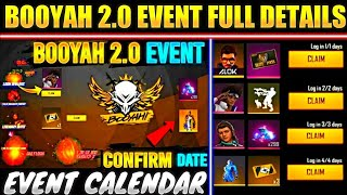 Free Fire Booyah 2.0 event | booyah day event free fire | booyah day event free rewards | booyah 2.0 screenshot 4