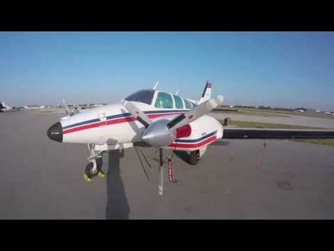 Beechcraft Baron B55 Flying to Paint Shop, from FXE - OBE. VFR Flight Following Uncontrolled Airport