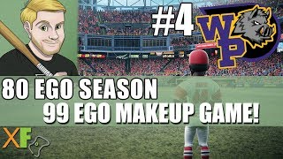 99 Ego Makeup Game! Super Mega Baseball 2 80 Ego Season Wild Pigs Game 4