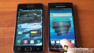 Xperia Arc vs. Galaxy S 2