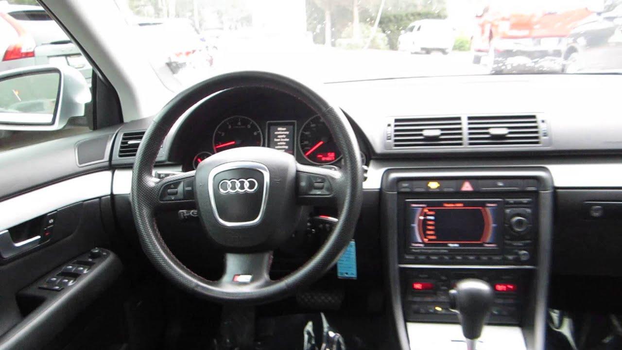 2006 audi a4 light silver metallic stock 14796b for Audi a4 interieur
