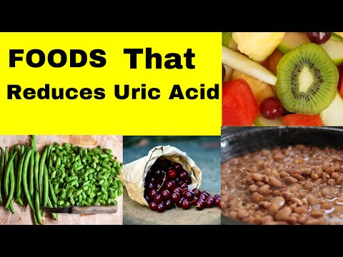 Foods that reduces uric acid | Uric acid reducing foods.