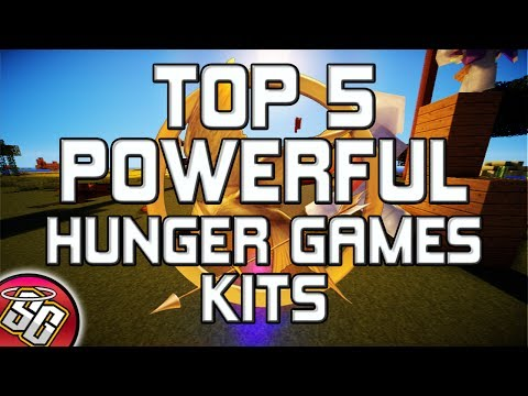 TOP 5 Most Powerful Hunger Games Kits | Minecraft