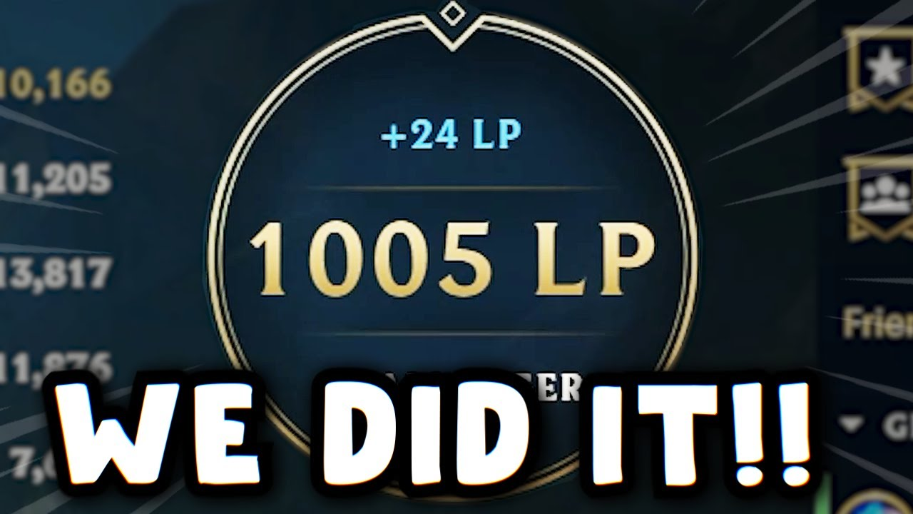 DAY 107 - BACK TO 1000 LP!!! THIS IS OUR SEASON I CAN FEEL IT