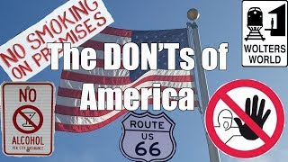 Visit America - The DON'Ts of Visiting The USA thumbnail