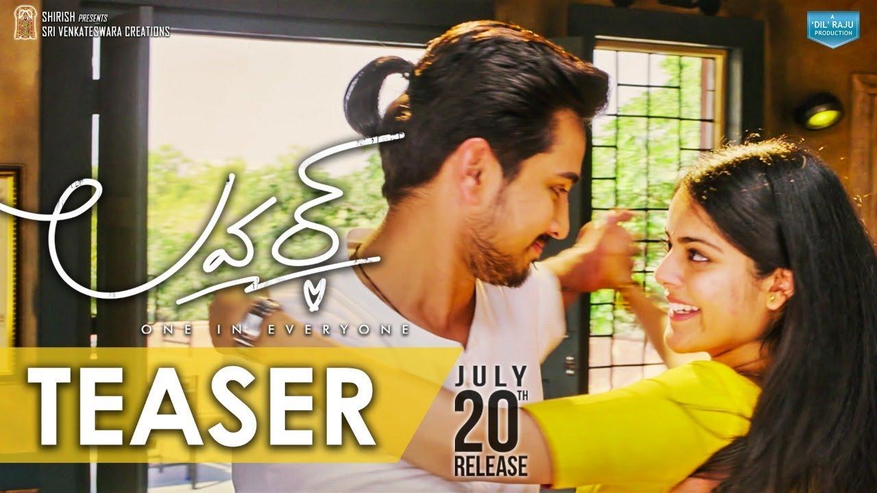 Lover Release Teaser 2 Raj Tarun Riddhi Kumar Annish Krishna Dil Raju Youtube