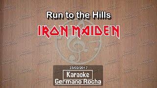Iron Maiden - Run To The Hills (Karaoke)