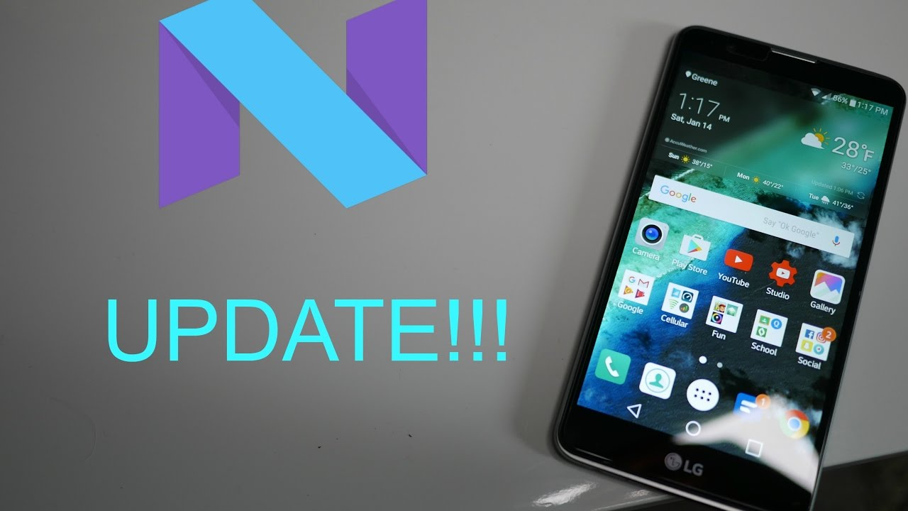 LG Stylo 2 Android N Update! Installation and Setup Boost Mobile