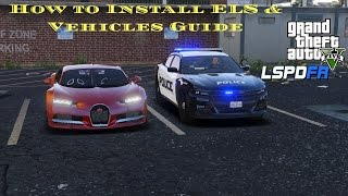 GTA 5 LSPDFR Tutorial- How to install Vehicle's & ELS